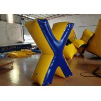 Buy cheap Commercial Inflatable Paintball Bunkers 0.6 X 1.8 (H) m Fire Resistance Customized product