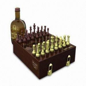 MDFの木箱から成っている2インチのチェスのこまセット