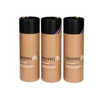 China Custom Cardboard High Quality Small Paper Tubes Packaging For Round Kraft Paper Box on sale