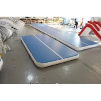 Buy cheap Airtight inflatable mat hot sale inflatable gym mat PVC airtight inflatable mat for training product