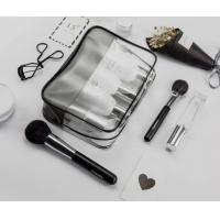 Buy cheap Clear PVC Plastic Material Waterproof Cosmetic Bag Zipper Closure Type product