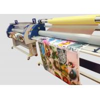 Single Side Large Format Cold Roll Laminator Machine For Advertising , High Efficiency