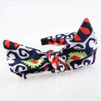 Buy cheap Multi Color Toddler Girl Headbands Cross Soft Printable For Festival Or Party product