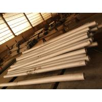 Welded In Round Stainless Steel Pipe , Mirror  Polish SS Seamless Pipes