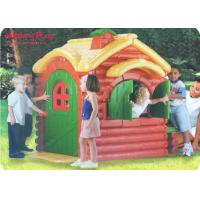 Buy cheap Fairy Tale Playground Nursery Active Play Equipment Indoor  ,  LLDPE Forest Lodge Playhouse product