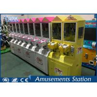 Buy cheap Different Color Mini Toy Crane Machine / Grab Toy Machine CE Certificated product