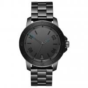 Buy cheap Luxury Minimalist Waterproof Watch , Black Mens Bracelet Watch Logo Customized product
