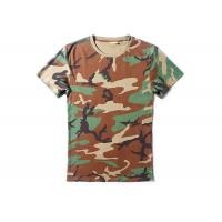 Buy cheap Woodalnd Cool Tactical T Shirts Elastic 100% Cotton For Outdoor Sports product