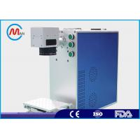 Buy cheap Metal Compact Laser Marker Machine With Fiber Laser Source Environmental Protection product