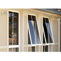 Buy cheap Double Glazed Aluminium Awning Windows Anti Theft / Air Proof For Commercial product