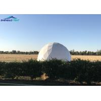 Buy cheap Military Geo Dome Tent White Large PVC Cover With Aluminum Frame from wholesalers