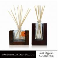 Buy cheap Wooden Bottom Based Aroma Reed Diffuser , Home Scent Reed Diffuser Certificate product