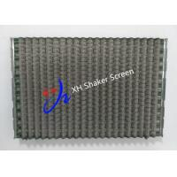Buy cheap FLC 2000 Wave Type Shale Shaker Screen With Notch for Shale Shaker product