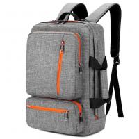 Buy cheap 17 Inch Laptop Tote Bag Grey Color , Travel Laptop Backpack Computer Bag product