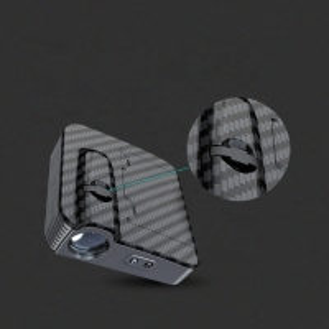 Buy cheap Wireless 2pcs 4.5v Door Projector Lights Carbon Fiber product