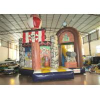 Quality Commercial Pirate Ship Bounce House , Indoor Playground Pirate Ship Bouncer 5 X 6m for sale