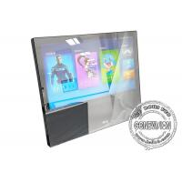 Buy cheap 21.5inch 1080p USB Update Mirror Wall Mount LCD Display, No Bezel Magic Mirror Advertising Player with Body Sensor product