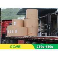 Buy cheap CCNB Coated Board Paper Grey Back For Making Boxes Good Stiffness product
