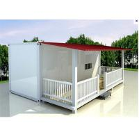 Buy cheap Economical EPS Neopor flat pack prefab modular house with Bathroom product