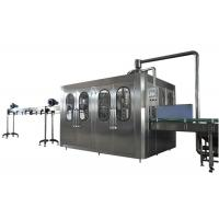 Buy cheap 24 Filling Heads Bottled Water Filling Line With High Bottle Washing Efficiency product