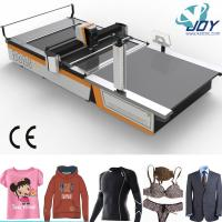Buy cheap Automatic CNC Textile Roll Fabric Cloth Cutter Cutting Machine with Fabric Spreader Price from wholesalers