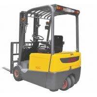 Buy cheap Three Wheel Electric Forklift Truck 1 ton capacity Small Turning Radius product