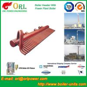 China 100 Ton Boiler Header Manifolds Carbon Steel Boiler Unit for Natural Gas Industry on sale