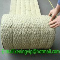Buy cheap Rock wool blanket with wire mesh for building and oven insulation/Mineral wool product