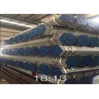 Buy cheap Round Steel Galvanised Pipe , Hot Dipped Galvanized Pipe 250-300g / ㎡ Zinc Coating product