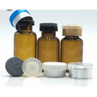 Buy cheap 10 Ml Small Glass Vials / Glass Dropper Bottles With Dropper Flip Off Seals product
