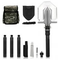 Foldable Military Tactical Shovel , Military Surplus Folding Shovel Outdoor Emergency Tool Kit