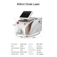 Buy cheap 20 million shots 808 nm portable diode laser hair removal machine price product