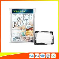Quality Waterproof Baking Paper Sheets / Non Toxic Parchment Paper Heat Resistant 20 * for sale