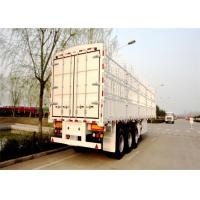 Buy cheap Different Sizes , color & Step wise 13M tri axle cargo fence semi trailer product