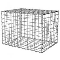 Buy cheap 100x100x50cm Welded Gabion Wire Mesh Retaining Wall For Building Square Hole from wholesalers