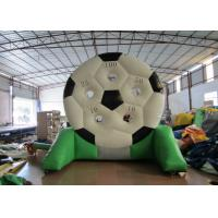 Buy cheap High Durability Inflatable Football Games waterproof PVC inflatable football shooting games product