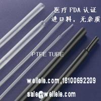 Buy cheap Teflon PTFE Sleeving ,CABLE CAR PTFE TUBE ,medical tiny PTFE sleeving product