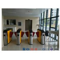 Fingerprint Retractable Flap Wing Barrier Pedestrian Control Flap Barrier Speed Gate