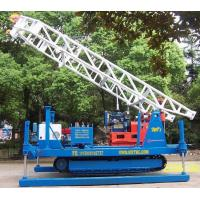 Buy cheap Hydraulic Chuck Crawler Drilling Rig Hydraulic , Portable Drilling Machine product