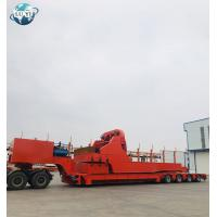 Buy cheap 3 axle windmill turbine wind turbine blade extendable trailer wind mill blade trailer product