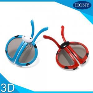 Buy cheap Циркуляр ABS пластичный поляризовывал зеленую рамки стекел 3D Cyan/красная/мадженту product