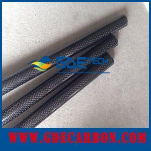 Buy cheap カーボン繊維の管、3Kあや織り無光沢カーボン繊維の管3mmの厚さ product