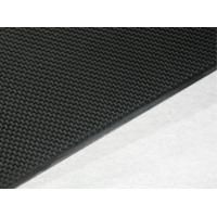 Buy cheap Black High tensile strength 1mm Carbon Fiber Plate for model aircraft product