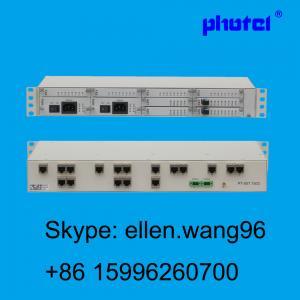 Buy cheap uma voz de 30 canais/dados sobre o equipamento de telecomunicações ótico da fibra do PCM Mux E1 da fibra, 30 canaliza FXS FXO 4WEM RS232 product