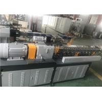 Buy cheap Twin Screw Plastic Extrusion Equipment Long Range Controlling Trouble Diagnosing product