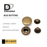 Buy cheap Anti Brass 4 - Parts DTM Metal Clothing Snaps product
