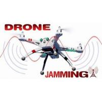 China UAV jammer drone jammer Jamming Range High Power  Channels Mobile Signal Jammer  for drone on sale