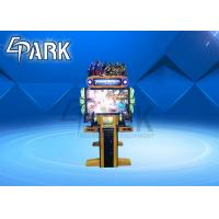 Buy cheap Indoor Game Center Shooting Arcade Machines Coin Pusher W1330*D1630*D2200mm from wholesalers