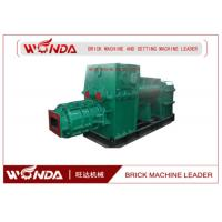 Quality Red Clay Soil Cement Brick Making Machine Vacuum Extruder High Manganese Steel for sale