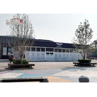 Buy cheap High Quality Aluminum Cube Structure Exhibition Tent Car Show Glass Hard Wall product